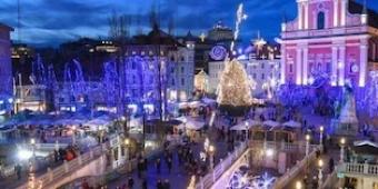 Mercatini di Natale a Lubiana