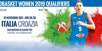Italia Vs Croazia - EuroBasket Women 2019