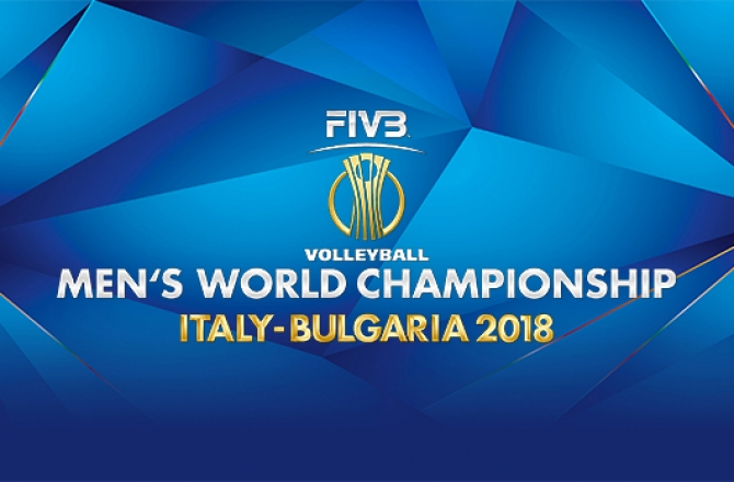 Volleyball Men's World Championship Italy-Bulgaria 2018