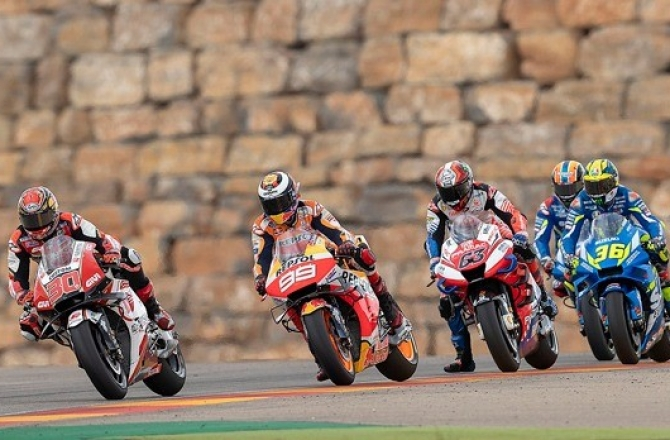 Moto GP - Aragon