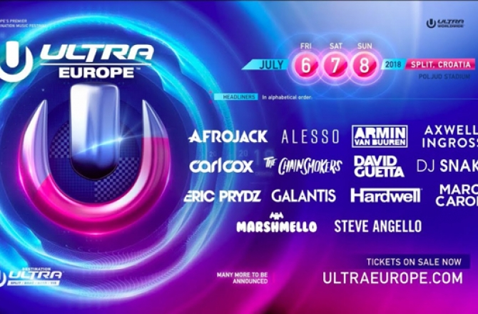 Ultra Europe 2018