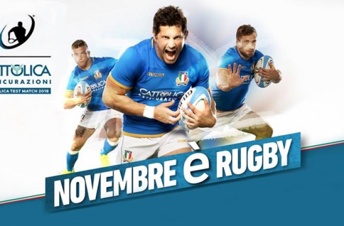 Rugby Italia - Test Match 2017