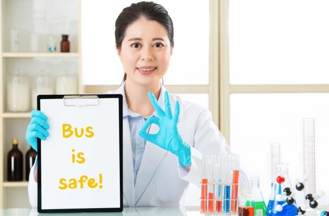 Viaggiare sui mezzi pubblici è sicuro?